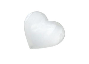Open image in slideshow, Selenite Heart