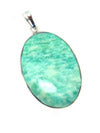 Open image in slideshow, Earth Stone Pendant, Crystal Earth