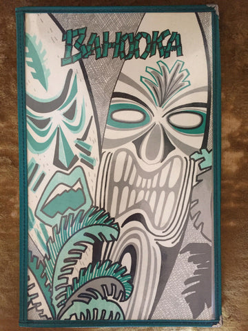 Bahooka Menu Cover