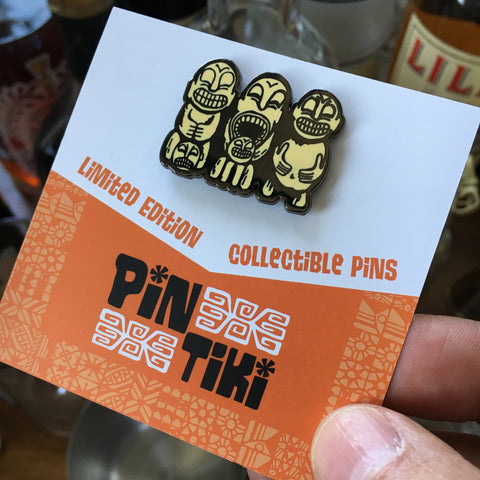 PinTiki Cannibal Trio Pin