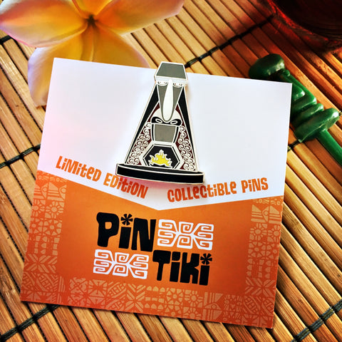 PinTiki Pins - Kahiki Fireplace collectible tiki pin