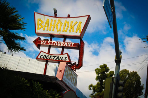 Bahooka Exterior Sign