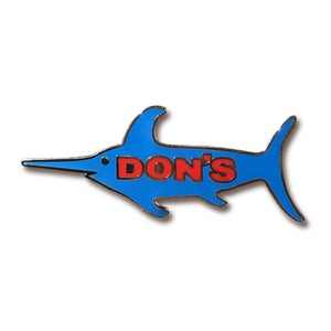 Don's 2nd Edition Swordfish Pin