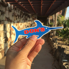 Don's Swordfish Sticker