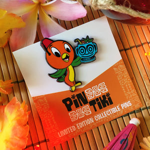 Orange Bird's Mai Tai pin from PinTiki