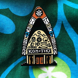 Kon-Tiki - Limited Edition Collectible Pin