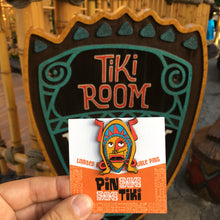Enchanted Talking Tiki Pin. Tiki Room, Trader Sam's
