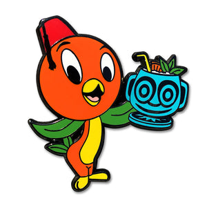 Orange Bird's Mai Tai - Limited Edition Collectible Pin