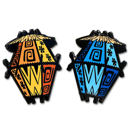 Tiki Swag Lamp - Limited Edition Collectible Pin