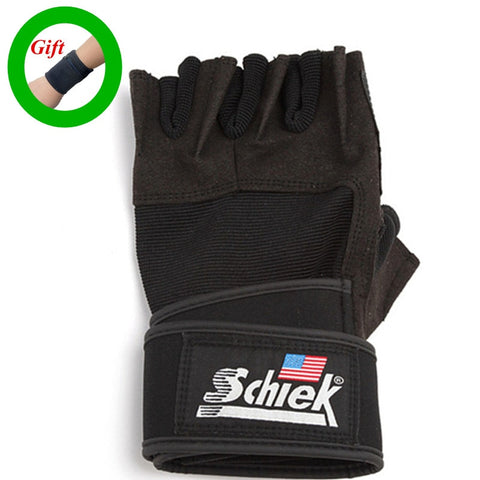 Schiek Gym Gloves with wrist protector