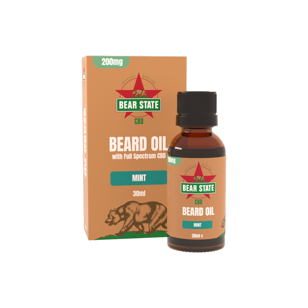 Bear State CBD Beard Oil 200mg