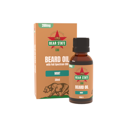 Bear State CBD Full Spectrum Beard Oil