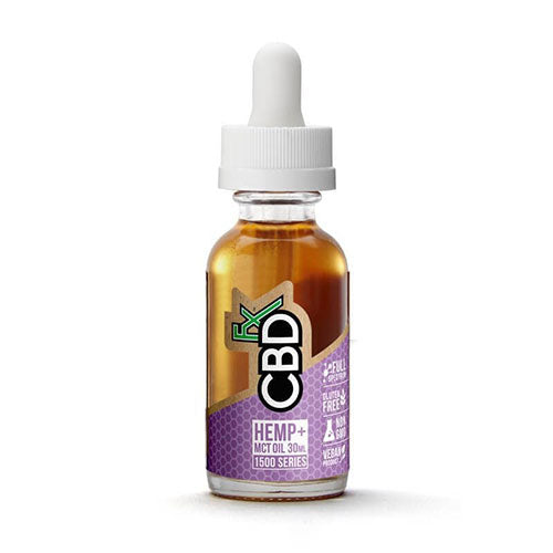 CBDfx 1500 Series Hemp MCT Oil Tincture