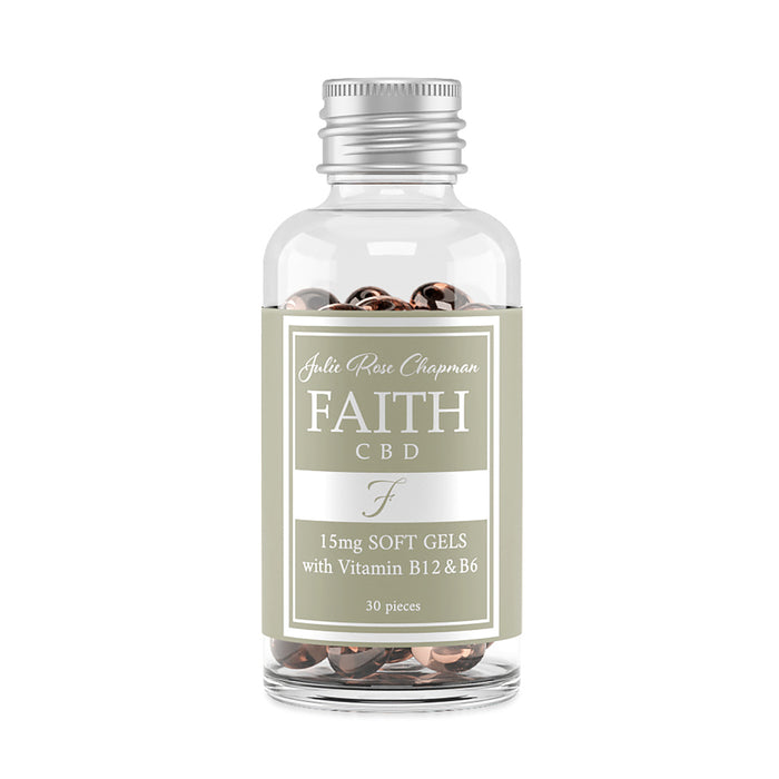 Faith CBD B6 & B12 Soft Gels 450mg
