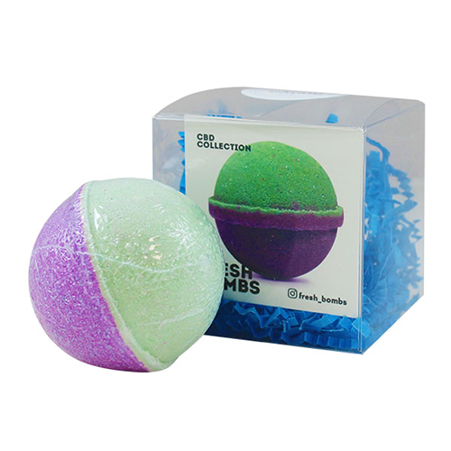 Fresh Bombs Peace & Love CBD Bath Bomb