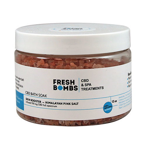 Fresh Bombs Skin Booster CBD Bath Soak