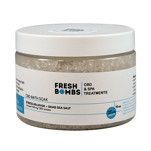 Fresh Bombs Stress Reliever CBD Bath Soak