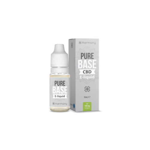 Harmony Pure Base 10ml CBD E-Liquid