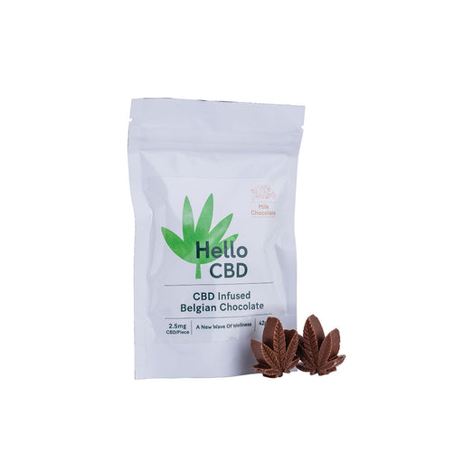 Hello CBD Belgium Milk Chocolate