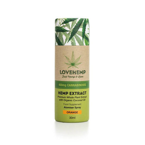 Love Hemp Extract Orange CBD Spray