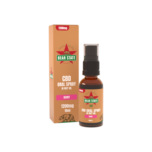 Bear State CBD Berry Oral Spray 1200mg