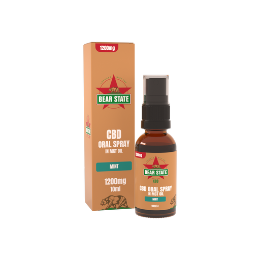 Bear State CBD Full Spectrum Mint MCT Spray