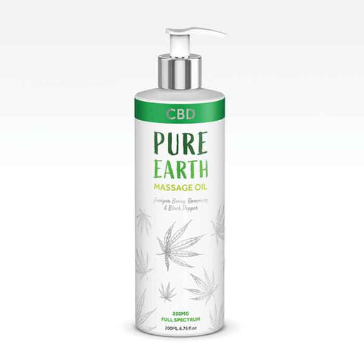 Pure Earth CBD Massage Oil