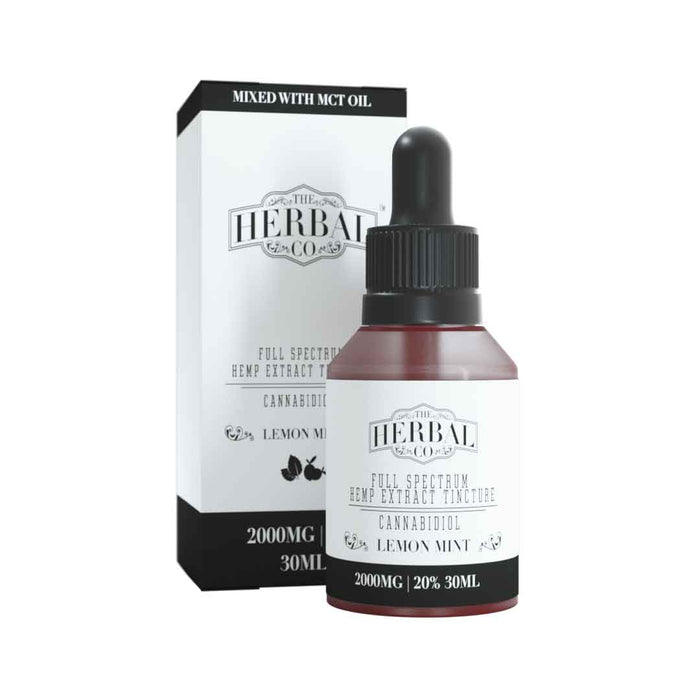 The Herbal Co Full Spectrum CBD Tincture