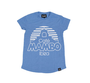 Mambo basic tee woman blue