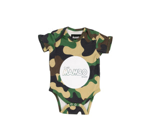 Cafe Mambo Camouflage Baby GroW