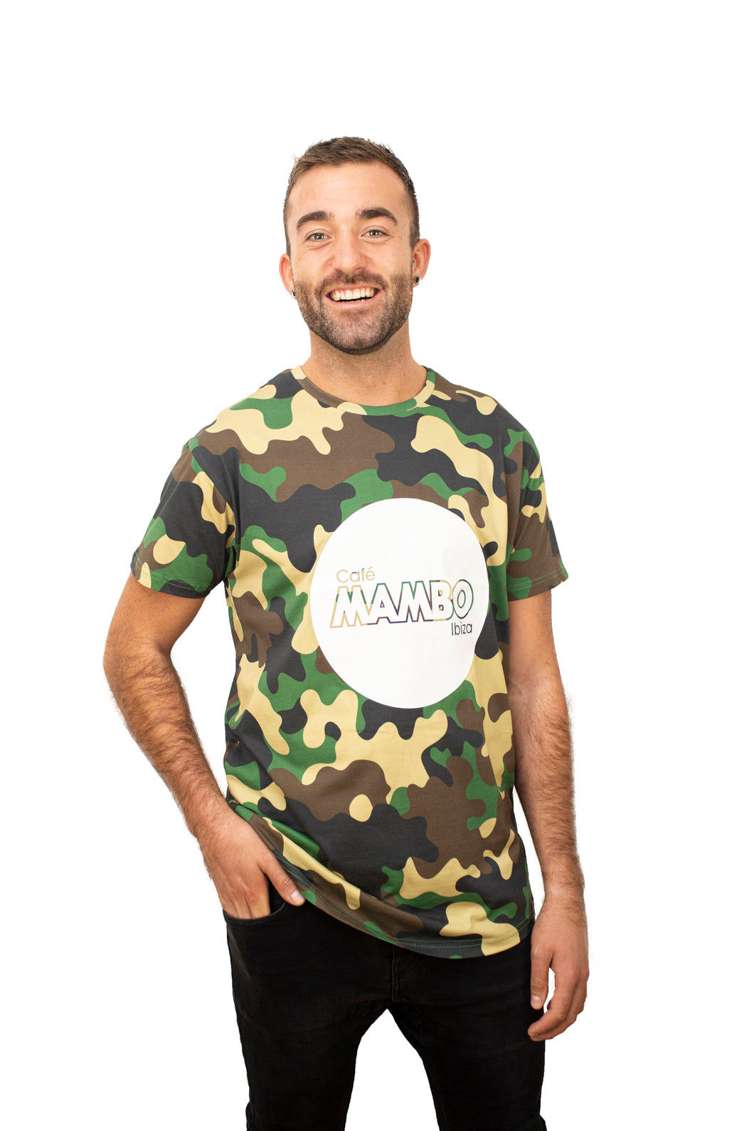 Cafe Mambo Camouflage Tee