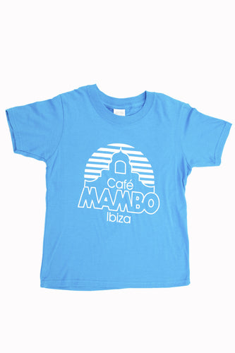 Kids Cafe Mambo Colours Tee - Blue