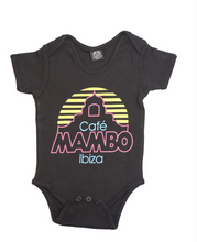 Load image into Gallery viewer, Classic Café Mambo Baby Grow