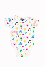 Load image into Gallery viewer, Café Mambo Emoji Babygro