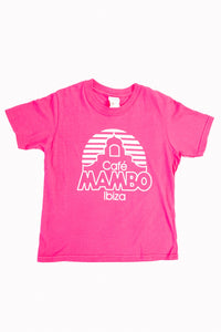 Kids Cafe Mambo Colours Tee - Pink