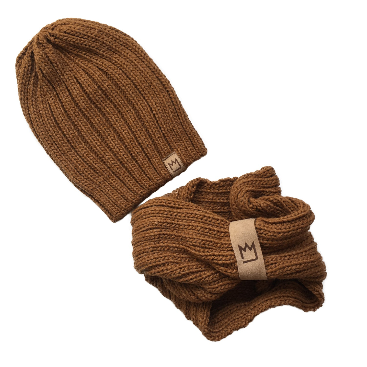Beanie Set Brown