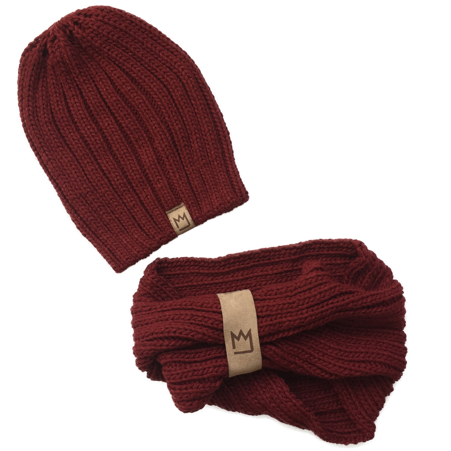 Beanie Set Mulberry