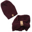 Beanie Set Bordeaux