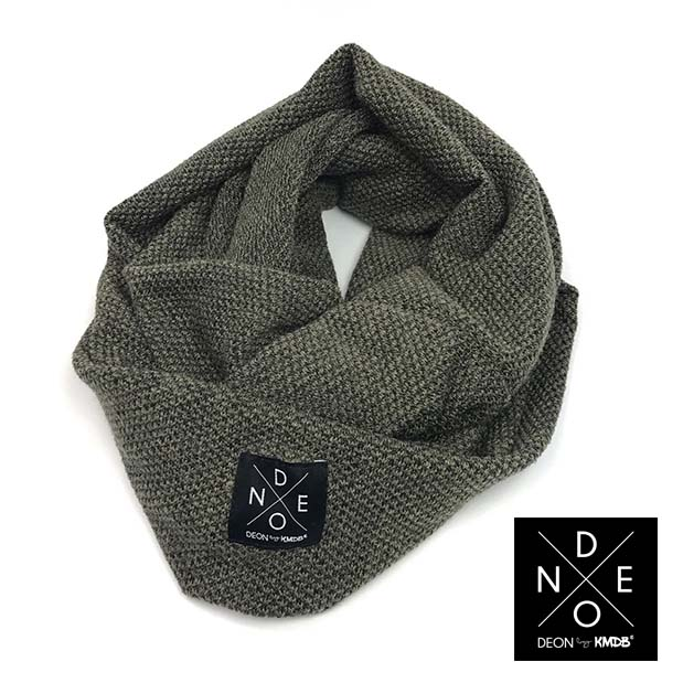 Turtleneck Scarf Khaki