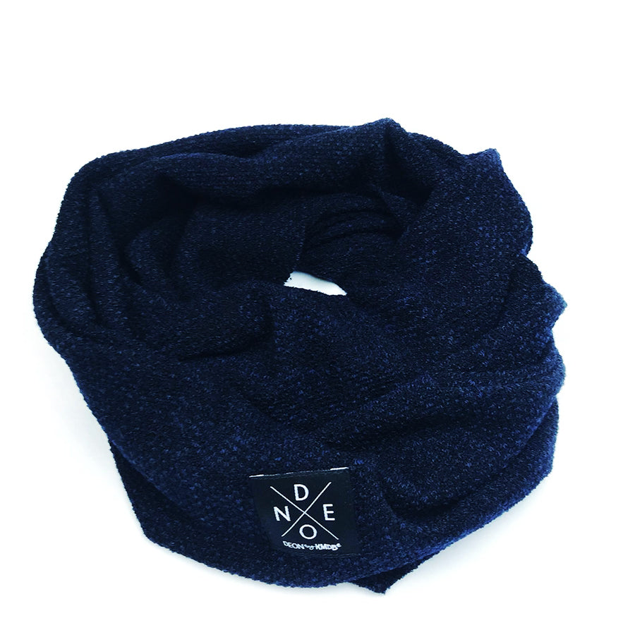 Turtleneck Scarf Navy