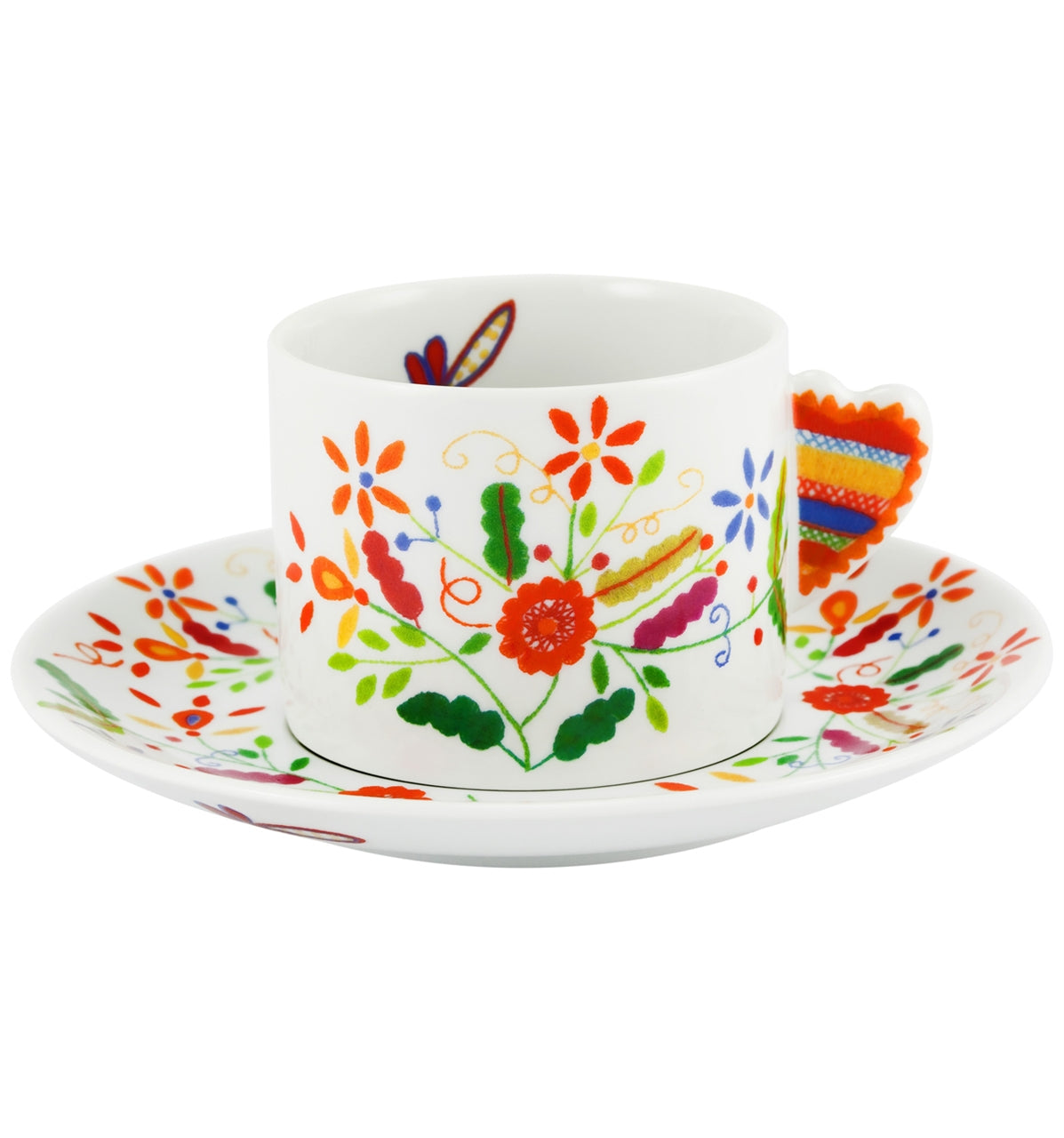 Vila Verde Tea Cup & Saucer Set of 4