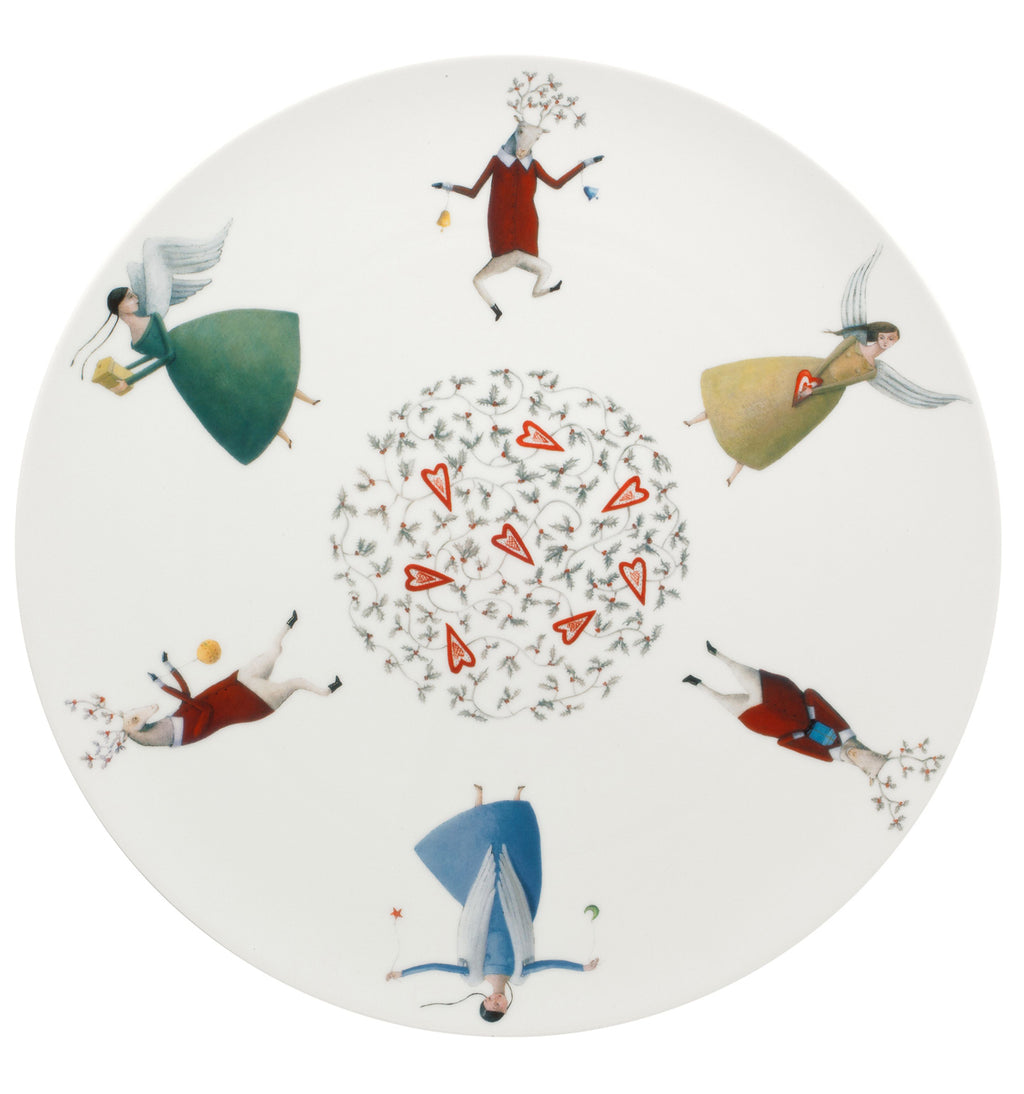 Angels Charger Plate