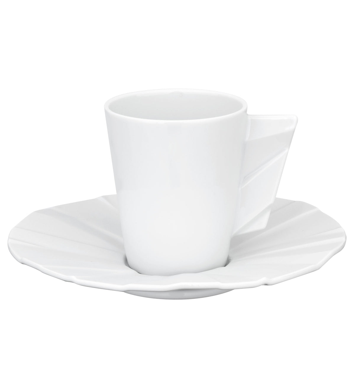 Matrix Coffee Cup & Saucer Set of 4