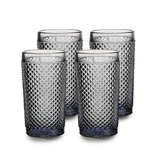 Bicos Cinza Highball Set of 4