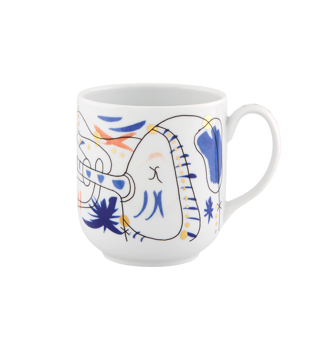 Folkifunki Mug Set of 4