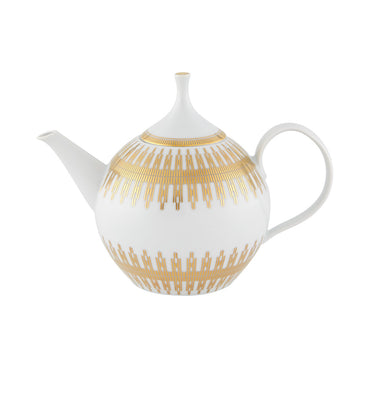 Gold Exotic Tea Pot