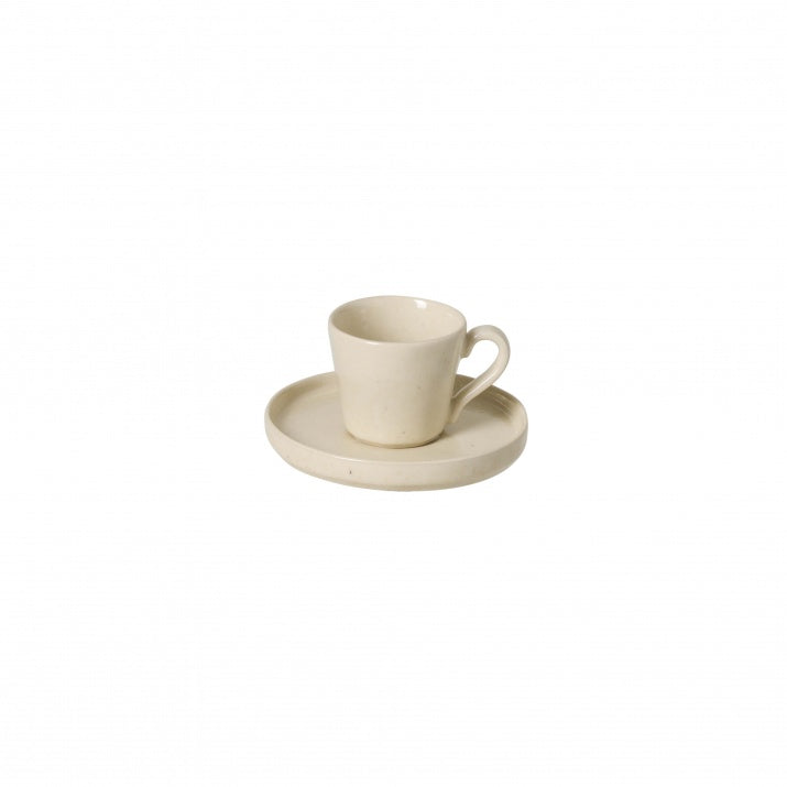 Lagoa Stone Coffee Cup & Saucer set of 6