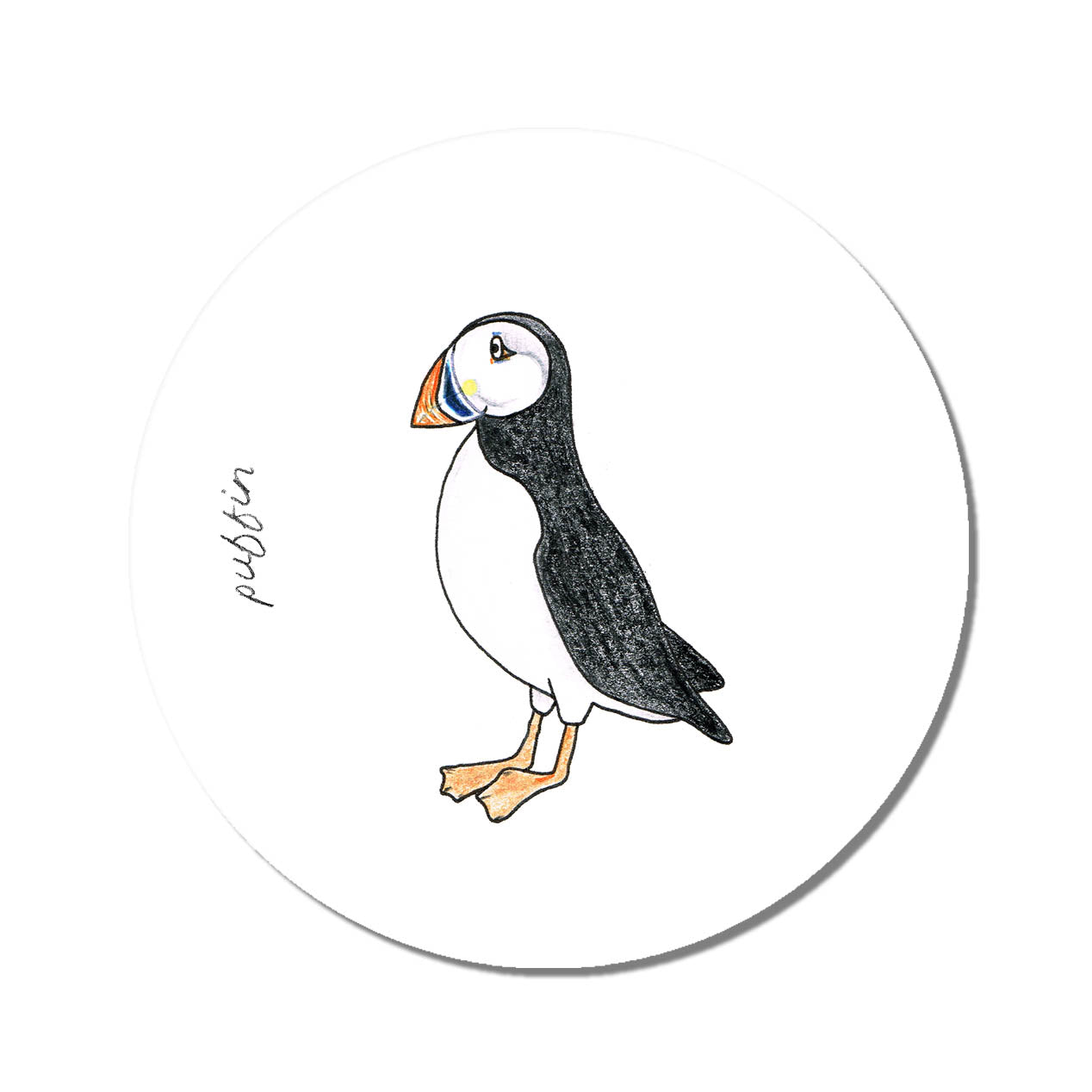Emma Lawrence Placemat Puffin