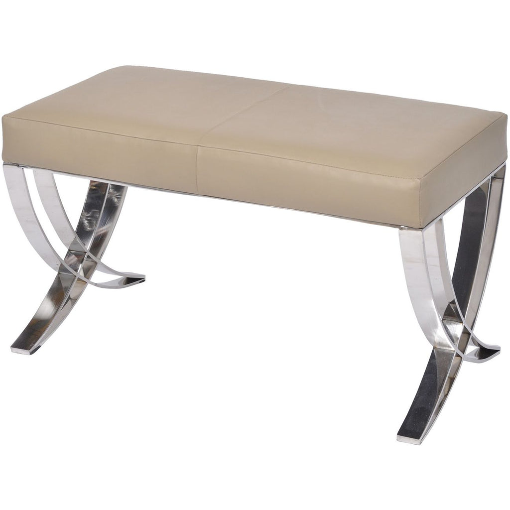 Ecclestone Leather Bench