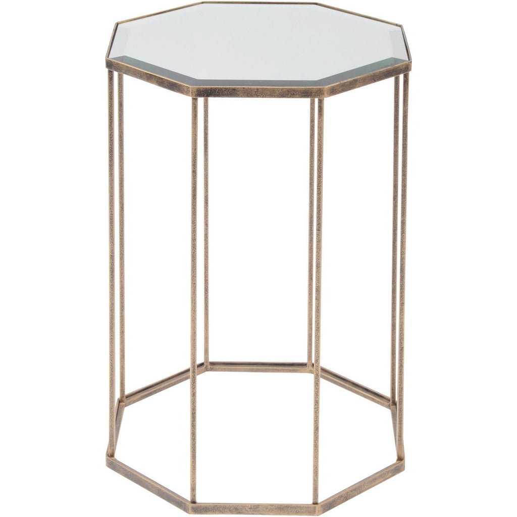 Occtaine Octagonal End Table
